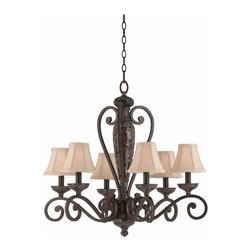 Triarch International - Triarch International 31443 The Jewelry Chandelier - Triarch International 31443 The Jewelry Chandelier