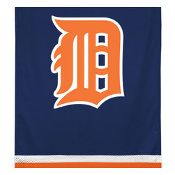 Sports Coverage - MLB Detroit Tigers Team Logo Jersey Baseball Wall Hanging - Features: