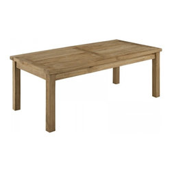 Modway Imports - Modway EEI-1154-NAT Marina Outdoor Patio Teak Rectangle Coffee Table In Natural - Modway EEI-1154-NAT Marina Outdoor Patio Teak Rectangle Coffee Table In Natural