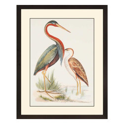 Paragon - Water Birds III - Framed Art - Each product is custom made upon order so there might be small variations from the picture displayed. No two pieces are exactly alike.