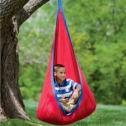 HugglePod Deluxe Hanging Chair - If I had this in my backyard, I might never come inside. This swing is the perfect reading nook and play spot to stay cool in this summer. It can also be used inside once summer is over.