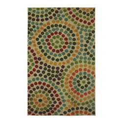 Mohawk - Contemporary Mosaic Stones 8'x10' Rectangle Multi Color Area Rug - The Mosaic Stones area rug Collection offers an affordable assortment of Contemporary stylings. Mosaic Stones features a blend of natural Multi Color color. Machine Made of Nylon the Mosaic Stones Collection is an intriguing compliment to any decor.