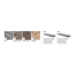 Techo Rocka Steps - Techo-Bloc Rocka Step Color and width options