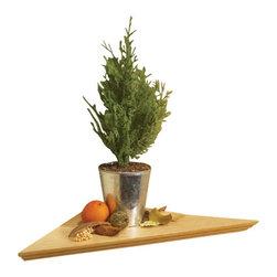 KV Kitchen & Bath Storage - EZ Decorative Wood Shelf in Oak - EZ Decorative Wood Shelves . Ledges.  17 in. x 17 in. x 24 in..  Oak