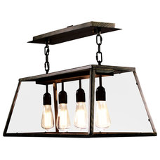 Rustic Chandeliers by Warehouse of Tiffany, Inc