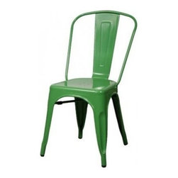 Apt2B - Oxford Metal Chair SET OF 4, Green - Meet our newest love - The Oxford Chair. Available in a variety of cool colors, you can mix and match to suit your style. Versatile and modern, this chair can go anywhere and look good.