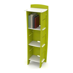 Legare - Legare 54 in. Kids Bookcase - Green and White - BCGM-105. - Shop for Childrens Bookcases from Hayneedle.com! Built from sturdy medium-density fiberboard (MDF) the Legare 54 in. Kids Bookcase - Green & White is a fun and convenient way to add bookshelves to any child's room. Get them in on the fun with the ultra-simple assembly and see how many books and toys you can load into this three-shelf bookcase. The top shelf adds more storage but also adds stability to the unit and the smooth green and white finish goes easily in any nursery bedroom or dorm room. There's no reason to stop with just a set of shelves when you can also add the Legare Kids 43 in. Multi Pack Desk System - Green & White.About Legare FurnitureBased in Fort Worth Texas Legare Furniture is a design and manufacturing firm that produces contemporary unique and easy-to-assemble furniture for the home and small office. Founded in 1999 the company's designs are an evolution of Legare's original signature modular design continually improved with innovative materials and finishes to enhance the chic style and convenient functionality that marks Legare's furniture as distinct.