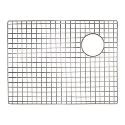 "Native Trails - Native Trails 22.5""x17"" Bottom Grid in Stainless Steel - *Native Trails Bottom Grids fit neatly on the floor of the sink, offering protection for the bottom and a cushion for fragile dishes"