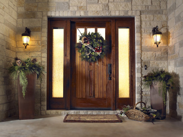 Traditional Front Doors by Ivan Industries