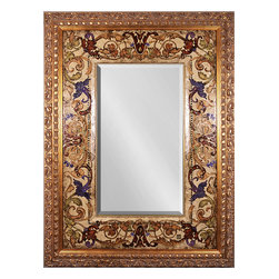 One Coast Design - Versailles Mirror - If you're going for glorious, this glass mirror with a gold frame will serve you well. Hand painted and featuring Swarovski crystals, the attention to detail is outstanding and will leave anyone who lays eyes upon it impressed.
