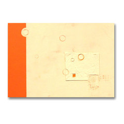 """Original - Modern Contemporary Art - Original by Mahlstedt Gallery - """"Orange"""" - Mahlstedt Gallery Bespoke Collection"""