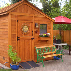 Contemporary Sheds by Outdoor Living Today
