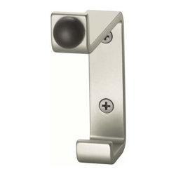 FSB USA - Fsb Usa Coat Hook Door Stop Combo, Stainless Steel - Fsb Usa Coat Hook Door Stop Combo, Stainless Steel