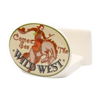 """ATD - 2.63 Inch Road Trip """"Come See the Wild West"""" Cowboy Napkin Holder - This gorgeous 2.63 Inch Road Trip """"Come See the Wild West"""" Cowboy Napkin Holder has the finest details and highest quality you will find anywhere! 2.63 Inch Road Trip """"Come See the Wild West"""" Cowboy Napkin Holder is truly remarkable."""