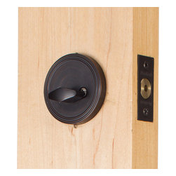 Miseno - Miseno MHDW670-AB Keyed-Entry One-Sided Deadbolt Set Aged Bronze - Keyed-Entry Deadbolt Includes: