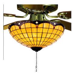 "Meyda Lighting - Meyda Lighting 99158 16""W Elan Fan Light Fixture - Meyda Lighting 99158 16""W Elan Fan Light Fixture"