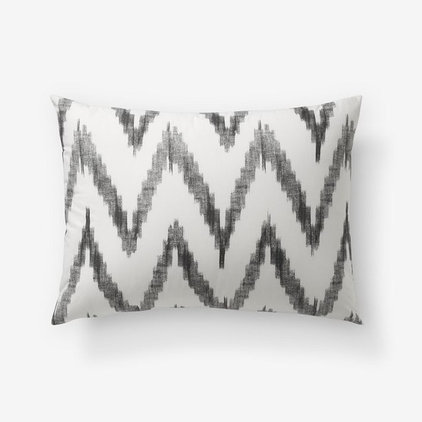 contemporary bed pillows and pillowcases by West Elm
