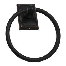 Westwood Towel Ring - Westwood towel ring in vintage bronze. Stone Harbor Hardware