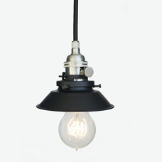 Industrial Pendant Lighting by Hammers & Heels