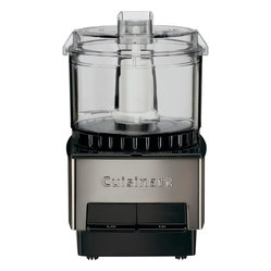 Cuisinart - Cuisinart 21 oz. Mini-Prep Processor - A mini-prep food processor can perform so many functions, like chopping nuts, making salsa and dicing onions, to name a few. This compact processor features two speed controls, a stainless steel blade with sharp and blunt edges and removable parts that are dishwasher safe.