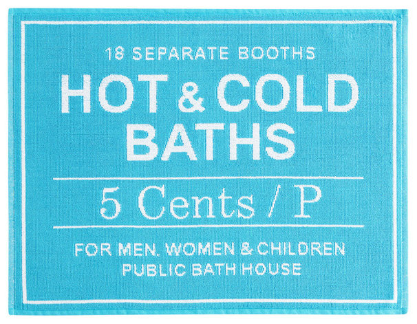 Modern Bath Mats by Will Taylor