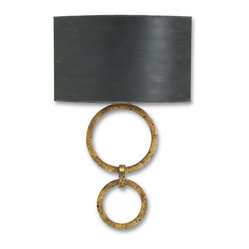 Double Ring Wall Sconce