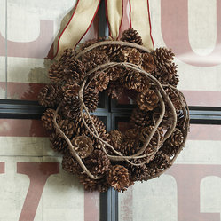 Pinecone & Vine Wreath