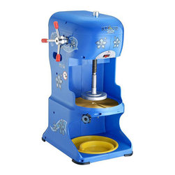Great Northern - Great Northern Ice Cub Shaved Ice Machine - This commercial shaved ice machine is great for entertaining. The unit can shave through six pounds of ice in a minute with stainless-steel blades and a HP motor. Enjoy hundreds of snow cones with this lightweight machine that's easy to clean.