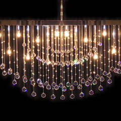 contemporary chandeliers by Royal Lighting Showroom
