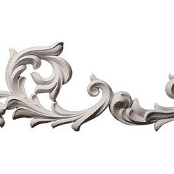 "Inviting Home - Victorian Flourish Scroll Wall Decoration - Right Large - Large Right Victoria Flourish Scroll 27""W x 2""D x 13""H This architectural wall decoration has a graceful leaf scrolls design. The Victorian Flourish wall decorations giving you the look of plaster but the durability and light weight of the high quality material it is made from makes the installation quick and easy. Architectural wall decoration is made in deep relief from a furniture grade polyurethane from hand cast molds and comes primed ready for paint or faux finish. This wall decoration are perfect for interior and exterior application. This wall decoration can be rotated differently while adapted in an overall design. Victorian Flourish wall decoration can be used in combination with other architectural decorative wall elements."
