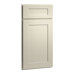 Dayton Door | Painted Linen Finish | CliqStudios.com Kitchen Cabinets - Dayton's shaker-inspired, recessed-panel doors and drawer fronts are reminiscent of true arts and crafts character that is exceedingly popular today. Crisp lines and simple styling make Dayton adaptable to any lifestyle.