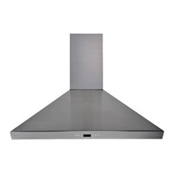 "Cavaliere-Euro SV218F-36 36"" Wall Mount Range Hood - This stainless steel wall mount range hood is available in 36"" at RangeHoodsInc.com for $499. Shipping is always Free. You can save an additional 10% using code RHIHZ10  at checkout."