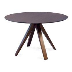 Saloom Furniture - Saloom Furniture | Nova Round Dining Table - Design by Peter Francis, 2010.