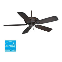 "Casablanca - Casablanca 59528 Heritage 60"" 5 Blade Energy Star Outdoor Ceiling Fan - Blades I - Included Components:"