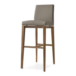 Calligaris - Calligaris | Quick Ship: Bess Leather Bar Stool - Design by S.T.C.