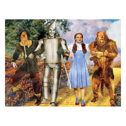 Westland - 'The Wizard of Oz Best Friends Forever' Canvas Art - This gorgeous 6 x 8 Inch The Wizard of Oz Best Friends Forever Colorful Canvas Art  has the finest details and highest quality you will find anywhere! 6 x 8 Inch The Wizard of Oz Best Friends Forever Colorful Canvas Art  is truly remarkable.