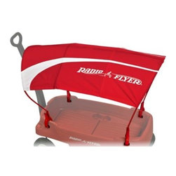 Radio Flyer - Radio Flyer Wagon Canopy - The Radio Flyer Wagon Canopy is the perfect way to keep your kids cool and protected on sunny days. The canopy includes four clamps that fit all Radio Flyer wagons and hold the canopy securely in place.