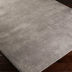 "Surya - Surya Cambria CBR-8708 (Pigeon Gray, Dove Gray) 8' x 10'6"" Rug - Bright colors and simple designs are the stuff of the Cambria collection. These hand-woven rugs are great for any home. The epitome of softness with 100% New Zealand wool, there is a rug to fit your home with a plethora of colors and sizes."