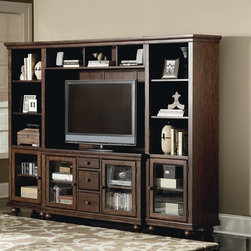 ART Furniture - Sutton Bay Entertainment Center - ART-152412-152413-152415-15241 - Sutton Collection Entertainment Center