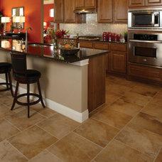 Modern Floor Tiles by Burroughs Hardwoods Inc.