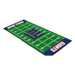 Fanmats - NFL New York Giants Football Long Runner Rug Mat - Features: