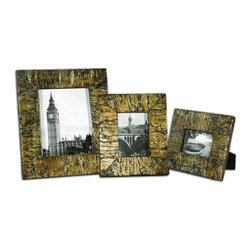 Uttermost - Coaldale Photo Frames Set of 3 - Coaldale Photo Frames Set of 3