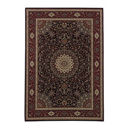 Oriental Weavers - European Ariana Square 8' Square Brown-Red Area Rug - The Ariana area rug Collection offers an affordable assortment of European stylings. Ariana features a blend of natural Blue-Red color. Machine Made of Polypropylene the Ariana Collection is an intriguing compliment to any decor.