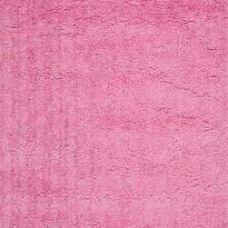 "Loloi Rugs - Loloi Rugs Hera Shag Collection - Pink, 5'-0"" x 7'-6"" - The Hera Shag Collection offers a fun, innovative take on the classic shag rug. Its interesting strand-like texture and striking colors are the perfect update to the shag category. Customers can choose from a selection of mixed tonal shades from warm to cool."
