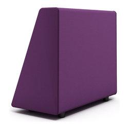 Turnstone - Steelcase - Campfire Wedge Purple - Wedge on, wedge off.