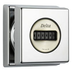 Delta - Delta Delta T50050-SS Stainless Steel Body Spray Trim with H2Okinetic Technology - Delta T50050  with sensible and classical style for a timeless addition to your bathroom. The Delta T50050 is a Surface Mount Body Spray Trim in Chrome.