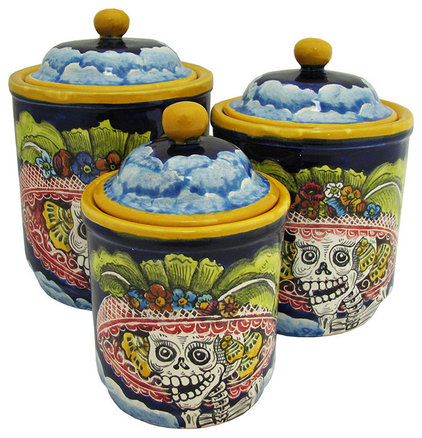 Mediterranean Kitchen Canisters And Jars by La Fuente Imports