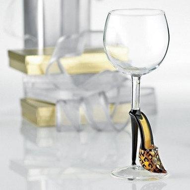 Collectible Stiletto Wine Glass - - Capacity: 9 Oz