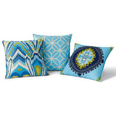 Eclectic Outdoor Pillows by Horchow