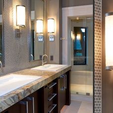 Contemporary Bathroom Vanity Lighting by Hammerton Lighting